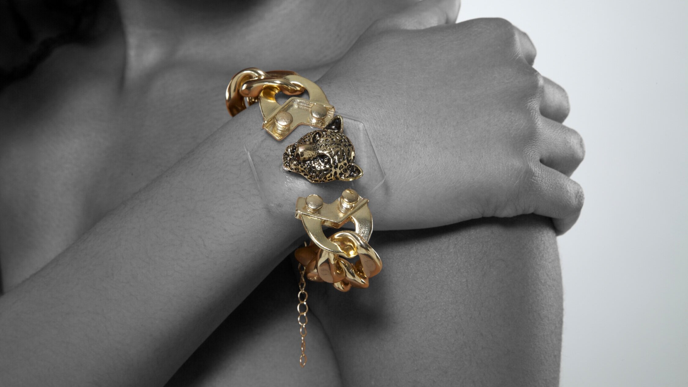 BRACELETS - Brace yourself for these eclectic bangles, arm cuffs and chain links.