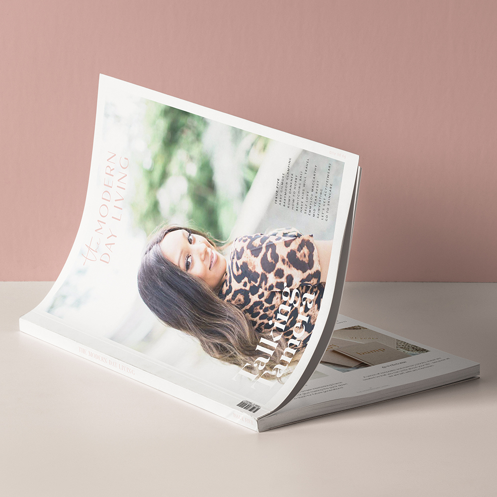 THE MODERN DAY LIVING  BRANDING | PRINT MAGAZINE | WEBSITE | COLLATERAL
