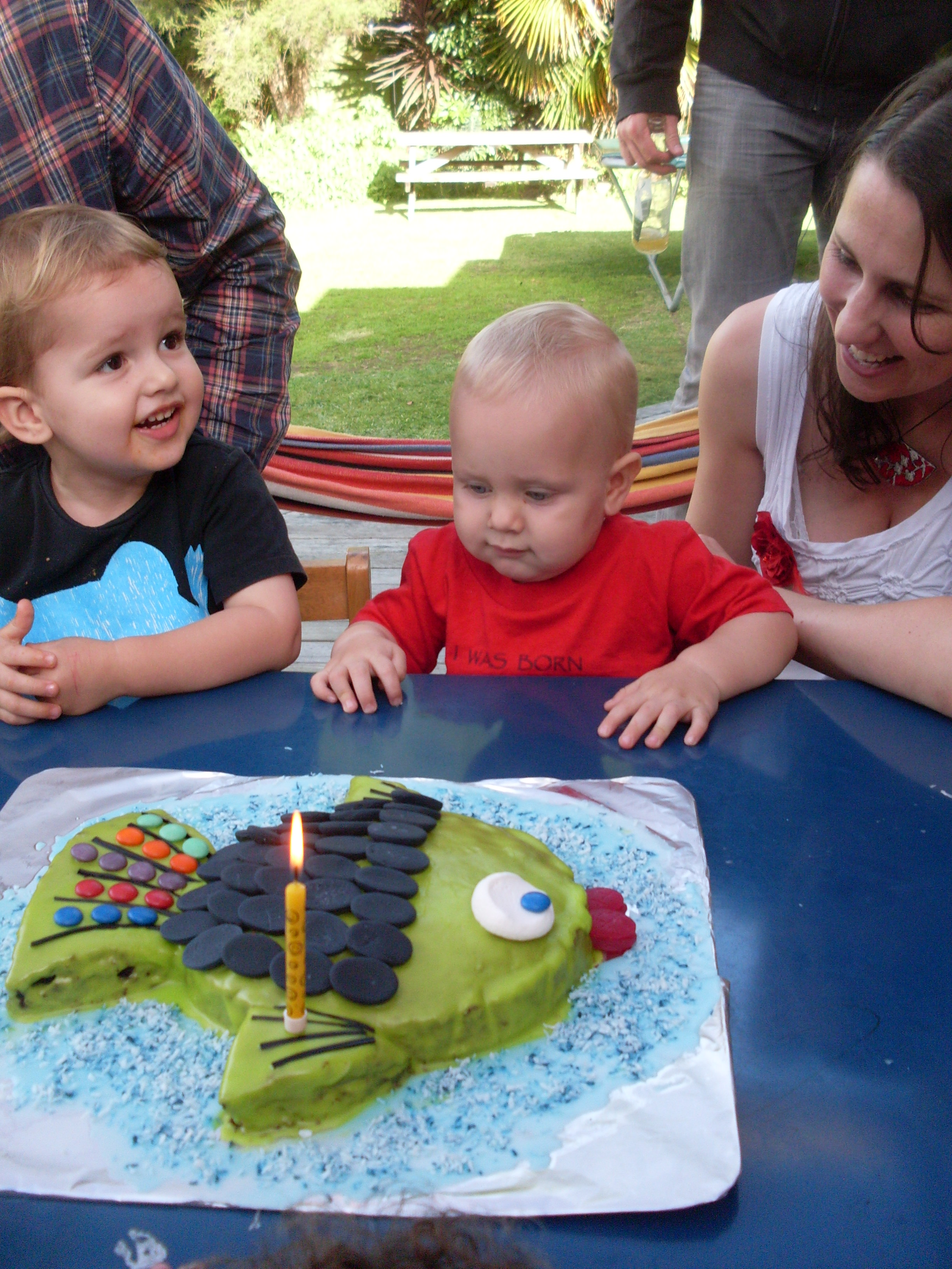 Jonah's 1st birthday