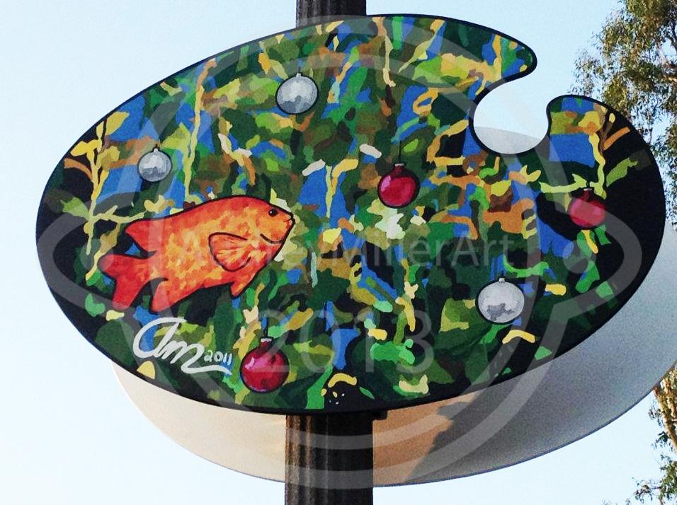 Garibaldi Christmas - 2011 Laguna Beach Palette Competition