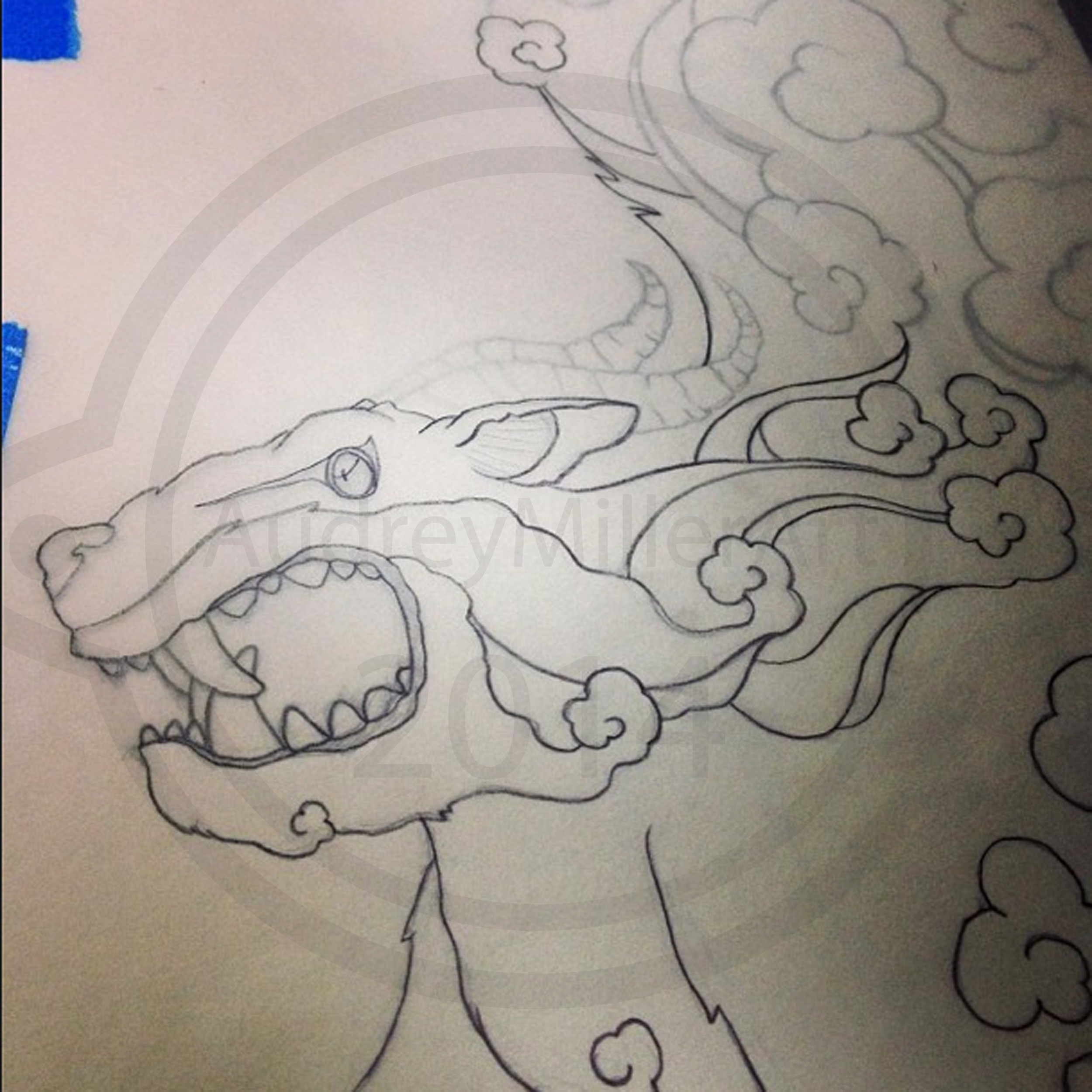 Dream Dragon Sketch