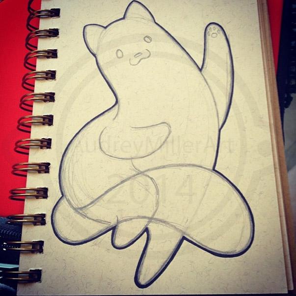 Chubby Dancing Kitty