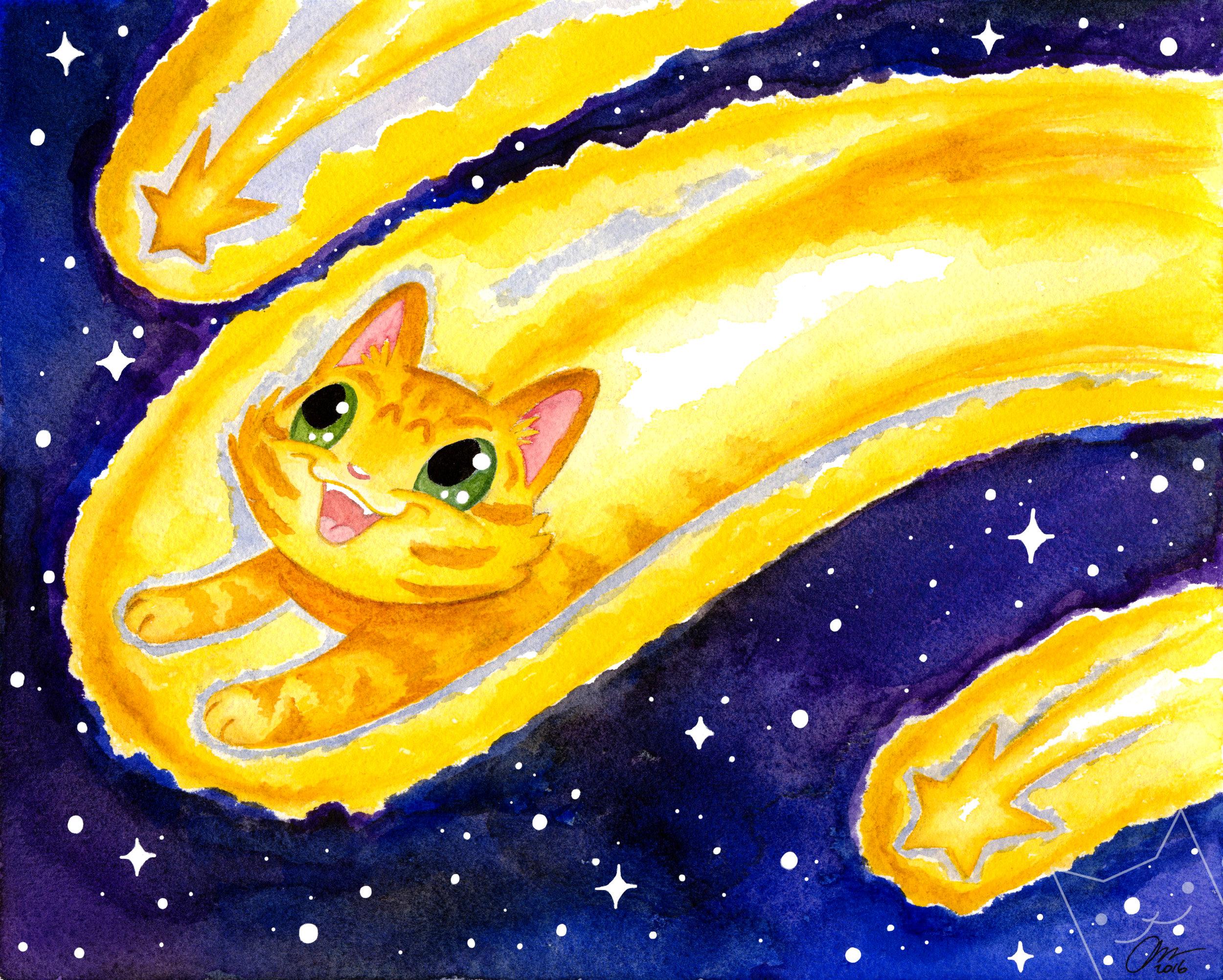 """""""Comet Kitty"""""""