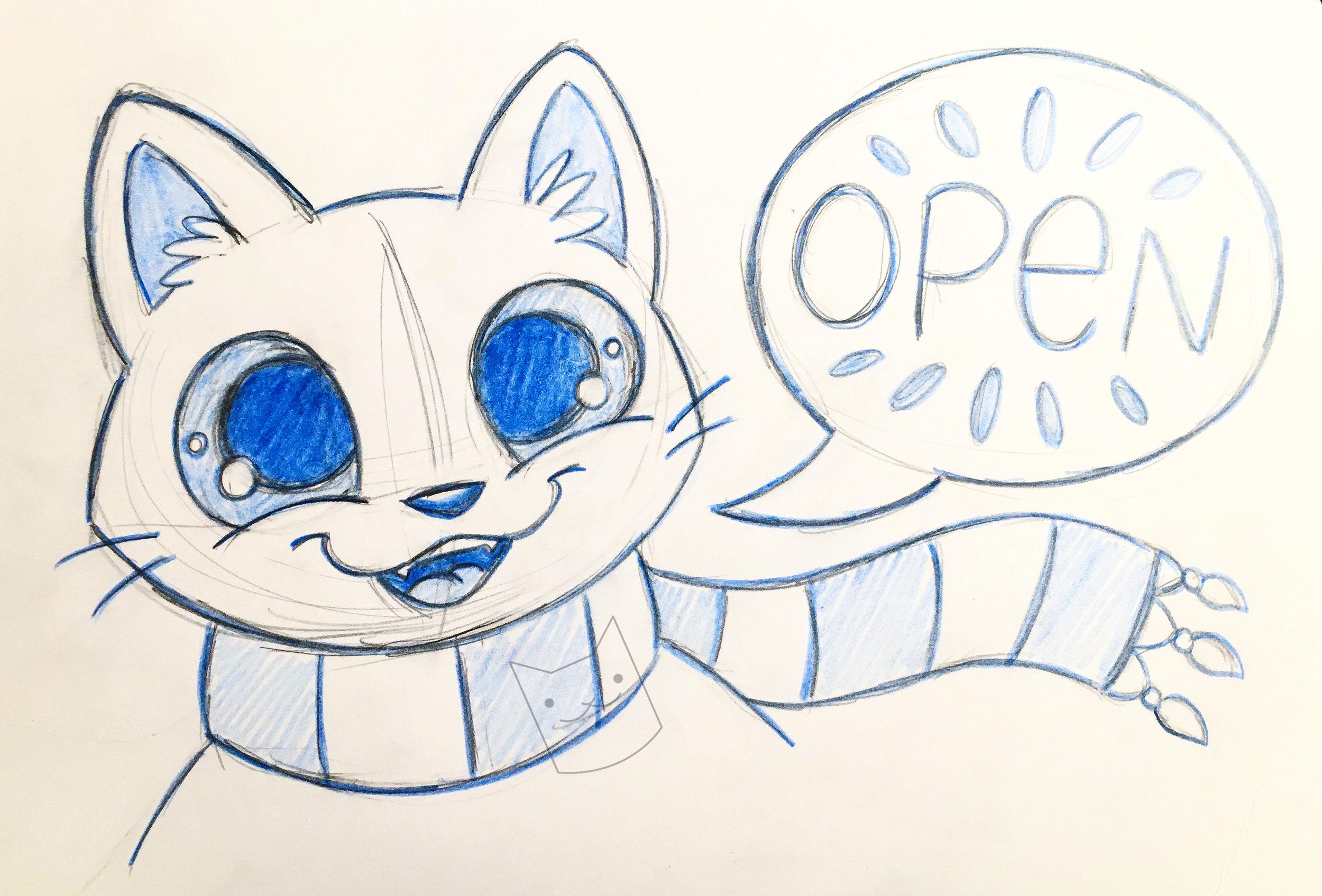 open sign cat.jpg