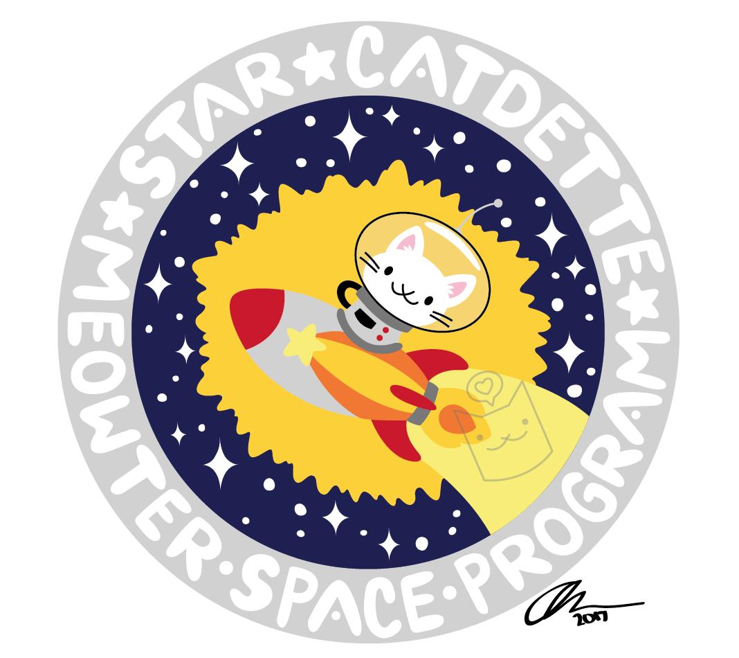 """""""Star Cadette - Meowter Space Program"""""""