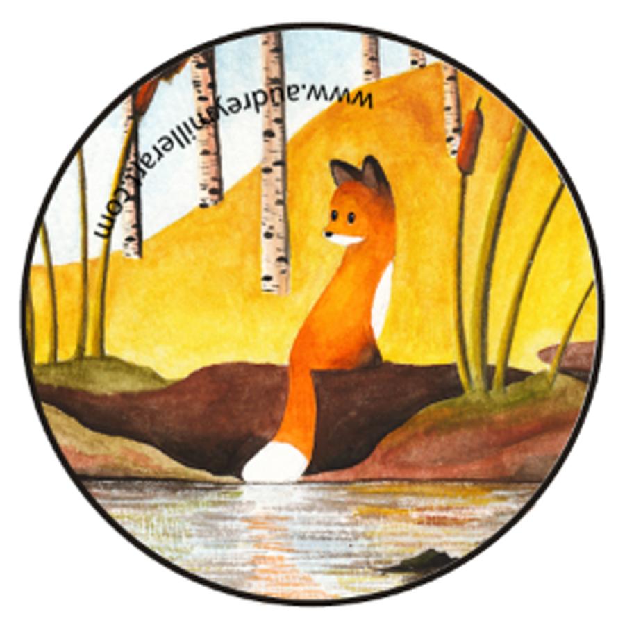 fox in the fall button.jpg