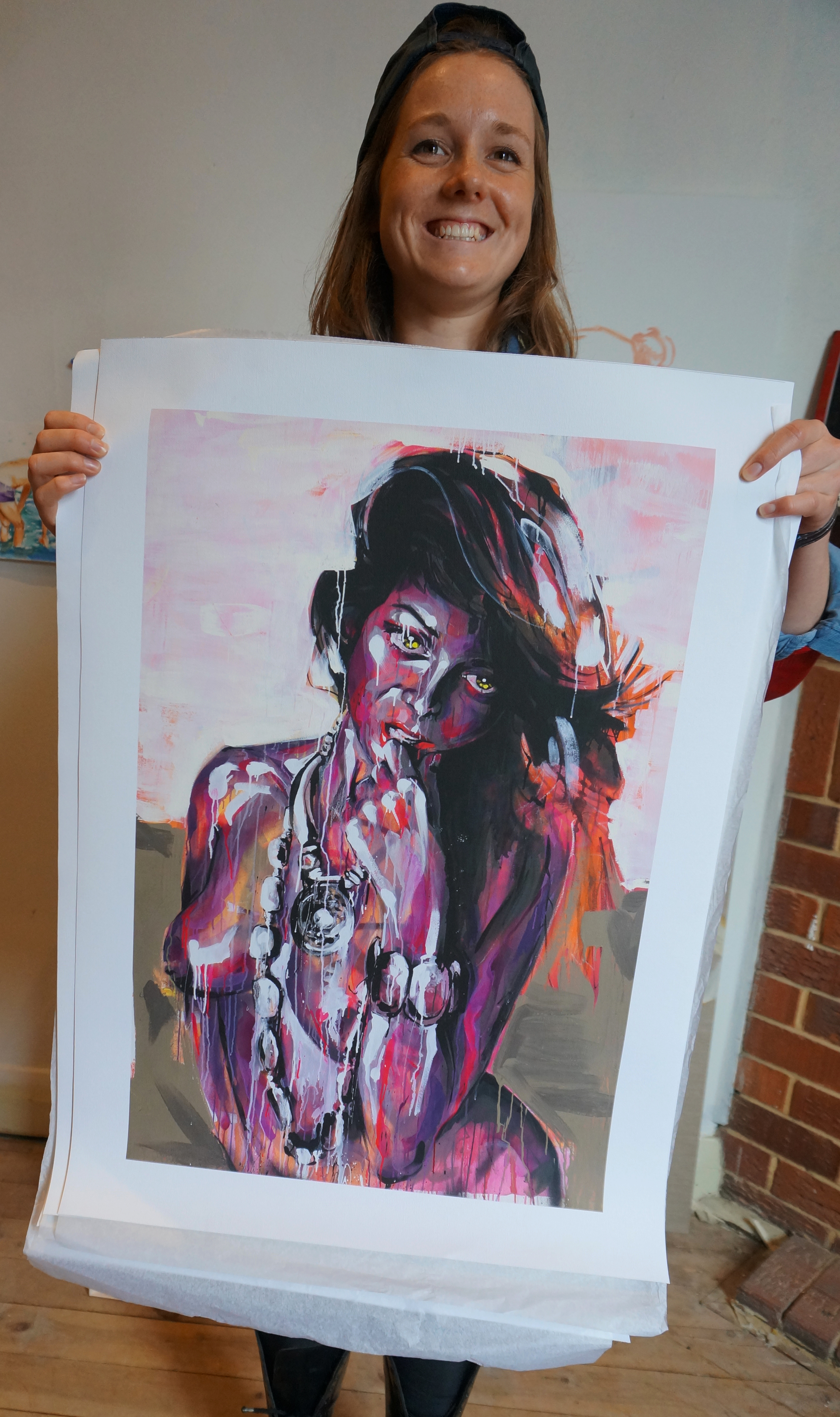New edition of Giclee canvas prints