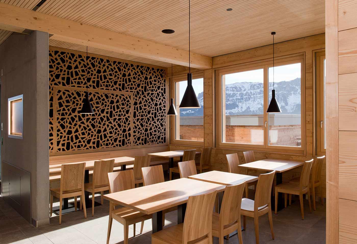 Wall-Cladding-Bruag_Oak-Plywood-18mm_Perforation-50100-scaled_Mountain-Restaurant-Prodalp-Flums.jpg