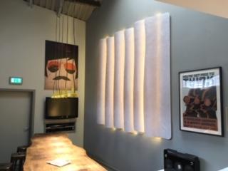 3form bespoke wall feature office Belfast