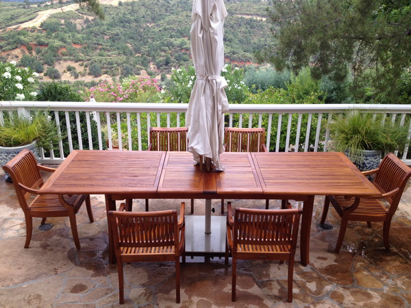 Teak Wood Table & Chairs