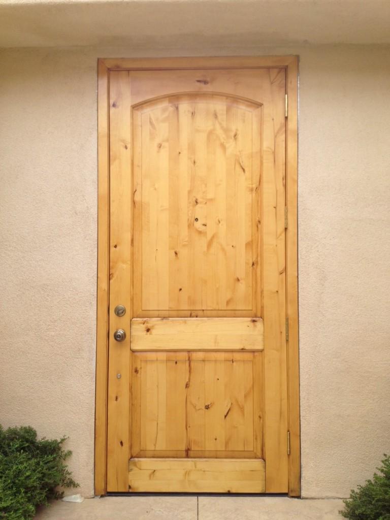Alder Door - After