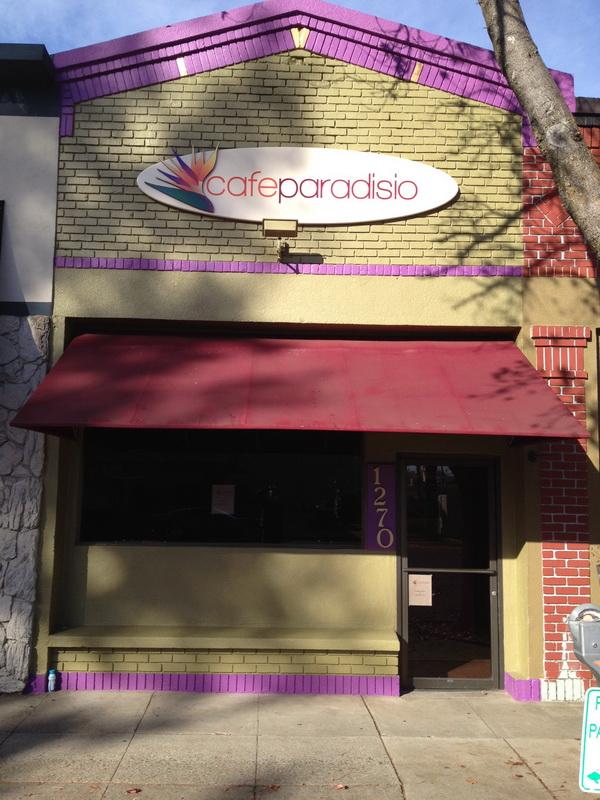 Cafe Paradisio Restaurant