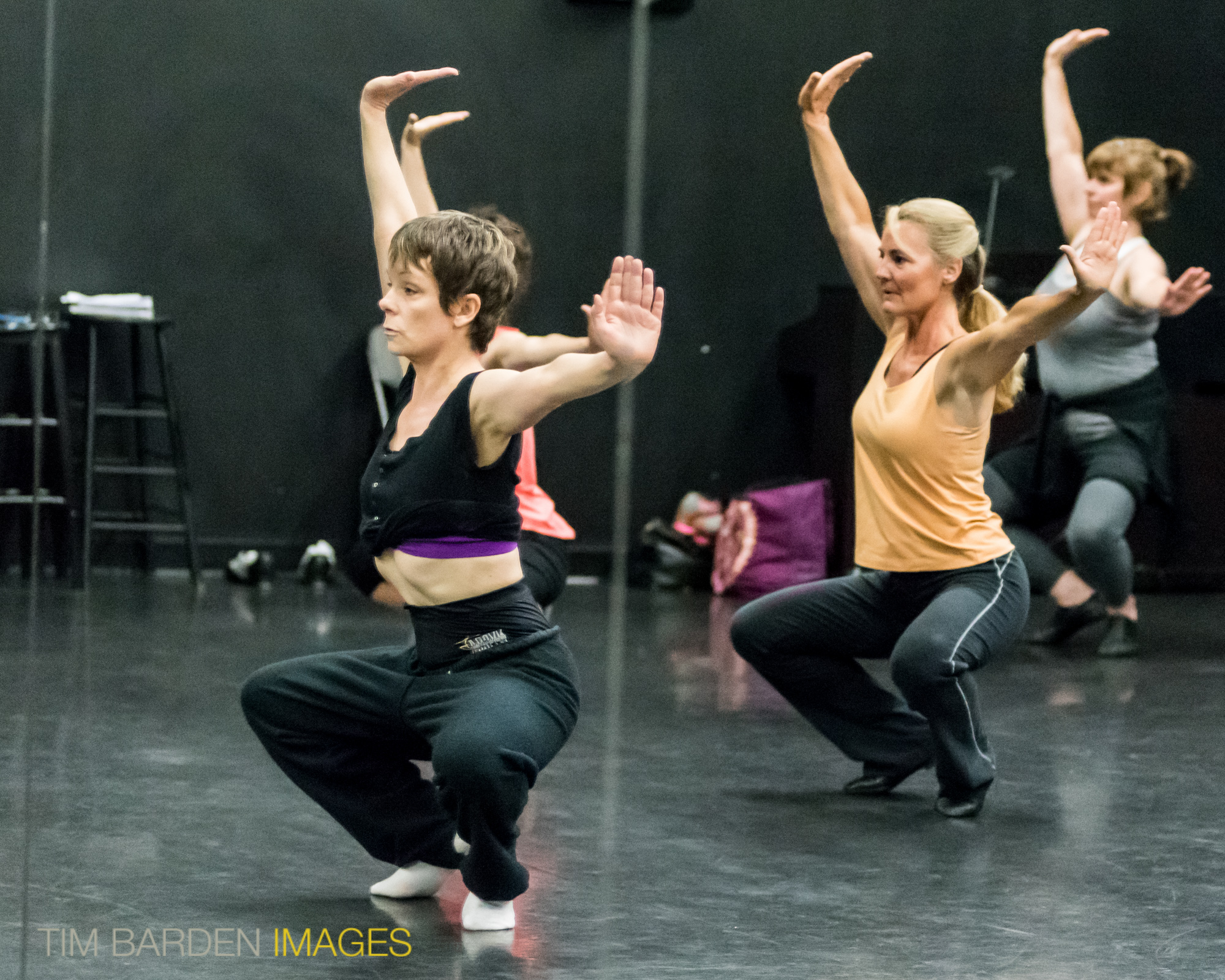 Lisa Hopkins teaching in Studio Three
