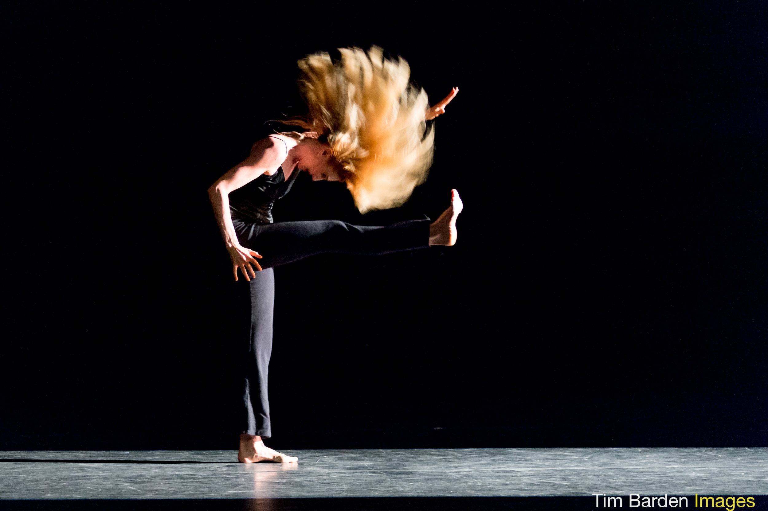 Katheryn Crockett -  The Martha Graham Company .  Lamentation Variations  (Choreography, Richard Move. Photo, Tim Barden)