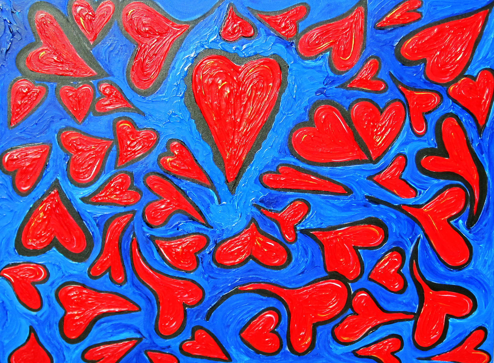 Sea of Love 48x72 (SOLD)