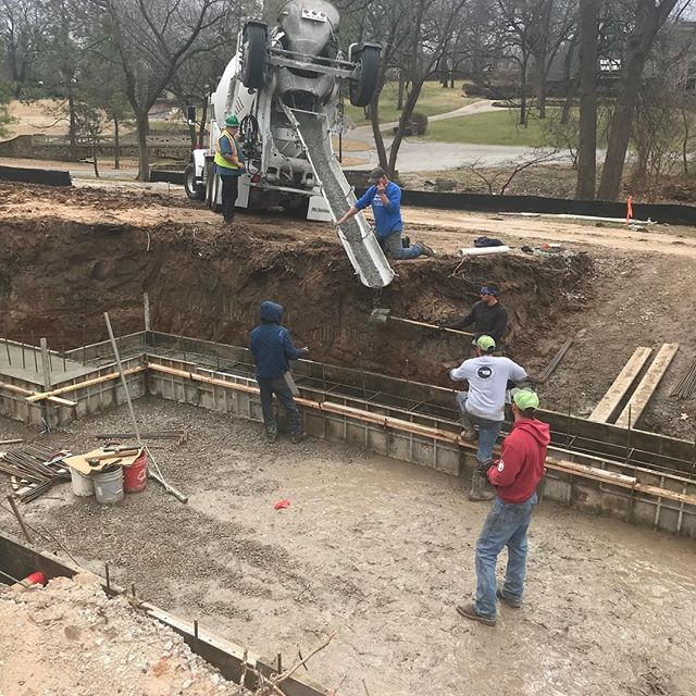 Starting a new home basement in Midtown Tulsa