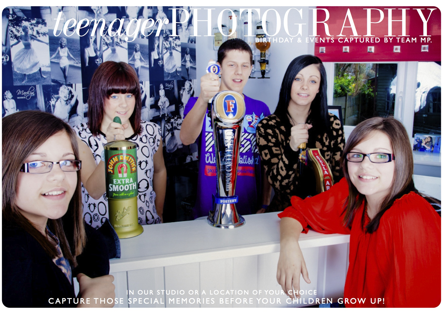Teenager Photography - Birthday parties and events.