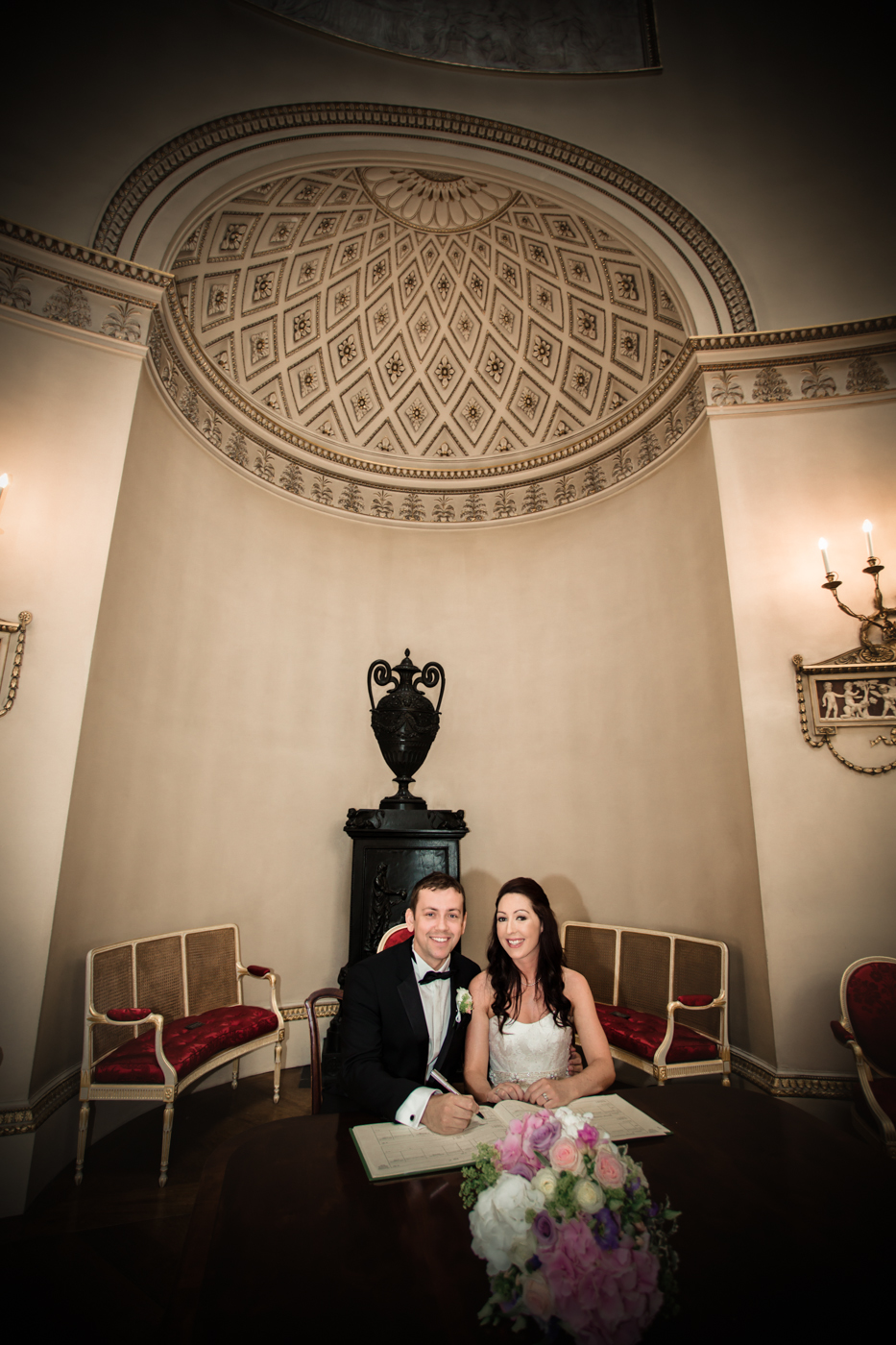 071 - Abi and Chris at Kedleston Hall - Wedding Photography by Mark Pugh www.markpugh.com - 0216.JPG
