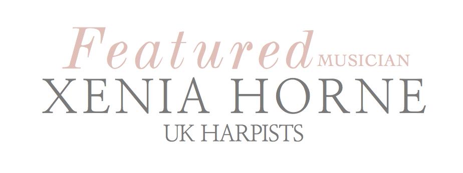 Xenia Horne UK Harpist Photography by www.markpugh.com Mark Pugh