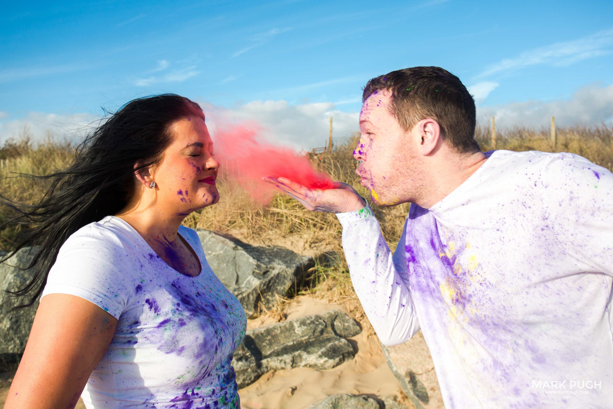 084 - Louise and Paul - preWED love session paint fun photography by www.markpugh.com.JPG