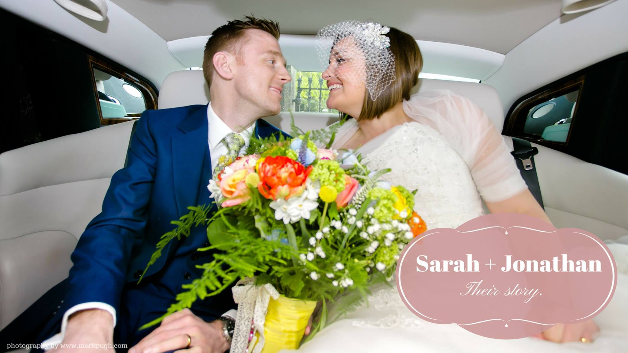 Sarah and Jonathan - wedding photography at the Carriage Hall, Plumtree by Mark Pugh