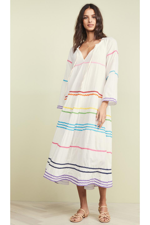 828ca5c2e9fa3 majorca_wht_rainbow_01.jpg. MAJORCA prairie ruffle maxi - white w/rainbow  ric rac trim. 405.00. sayulita_white_rainbow01.jpg. SAYULITA tier maxi dress  ...