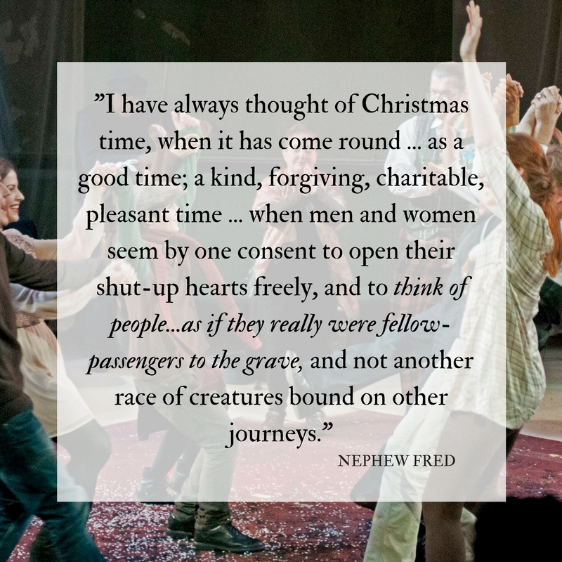 I have always thought of Christmas time, when it has come round—apart from the veneration due to its sacred name and origin, if anything belonging to it can be apart from that—as a good time; a kind, forgiving, chari (1).png