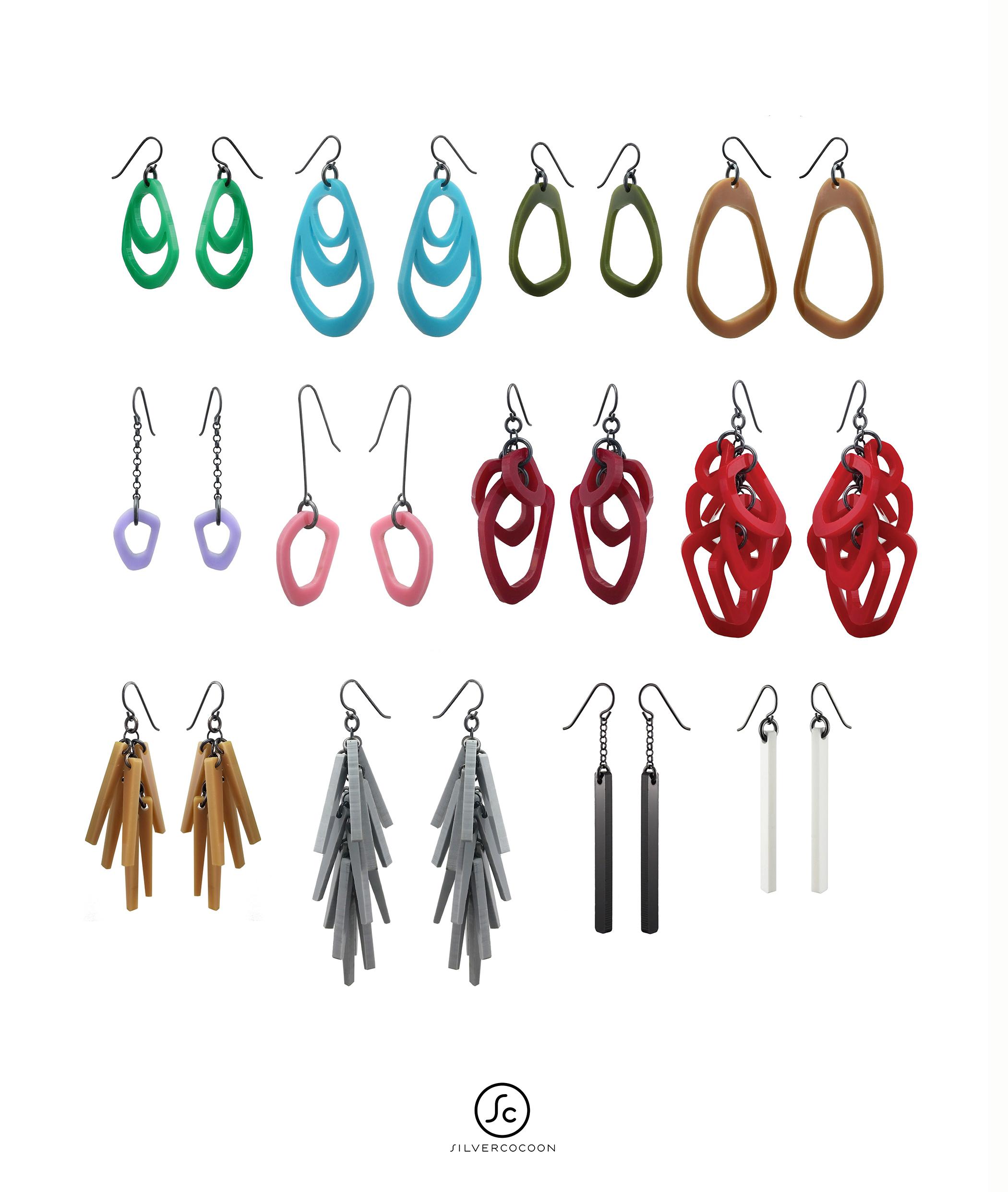 Silvercocoon jewelry: the classics