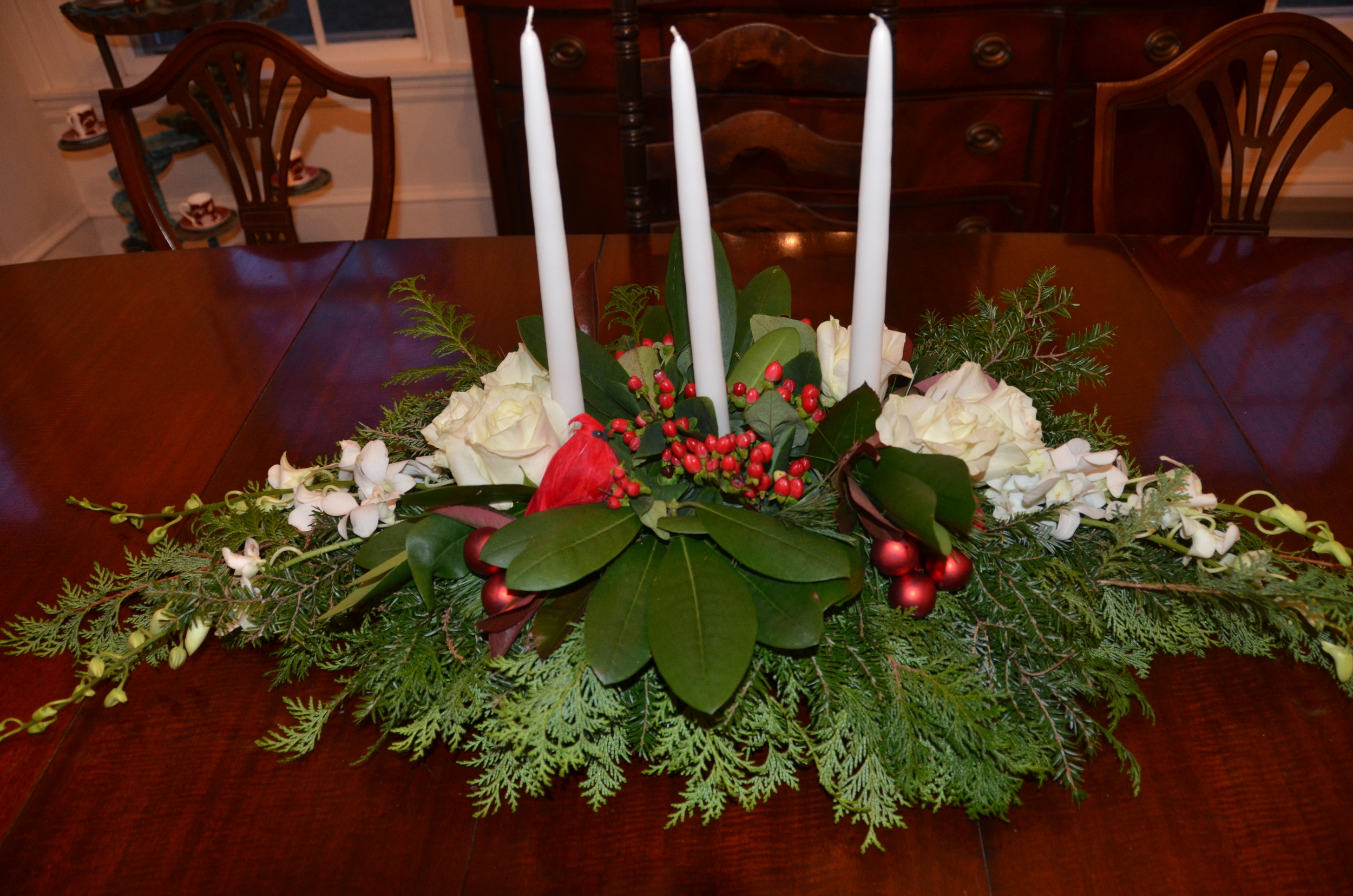 Centerpiece for an elegant table