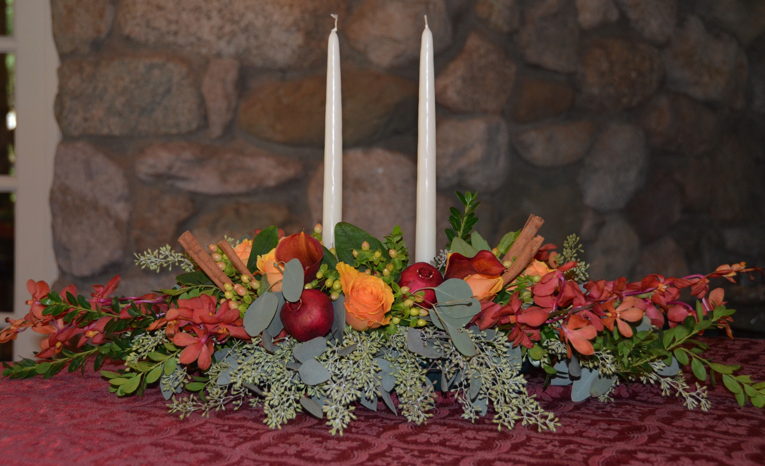 Picture this on your Thanksgiving table. Prices starting at $50.00