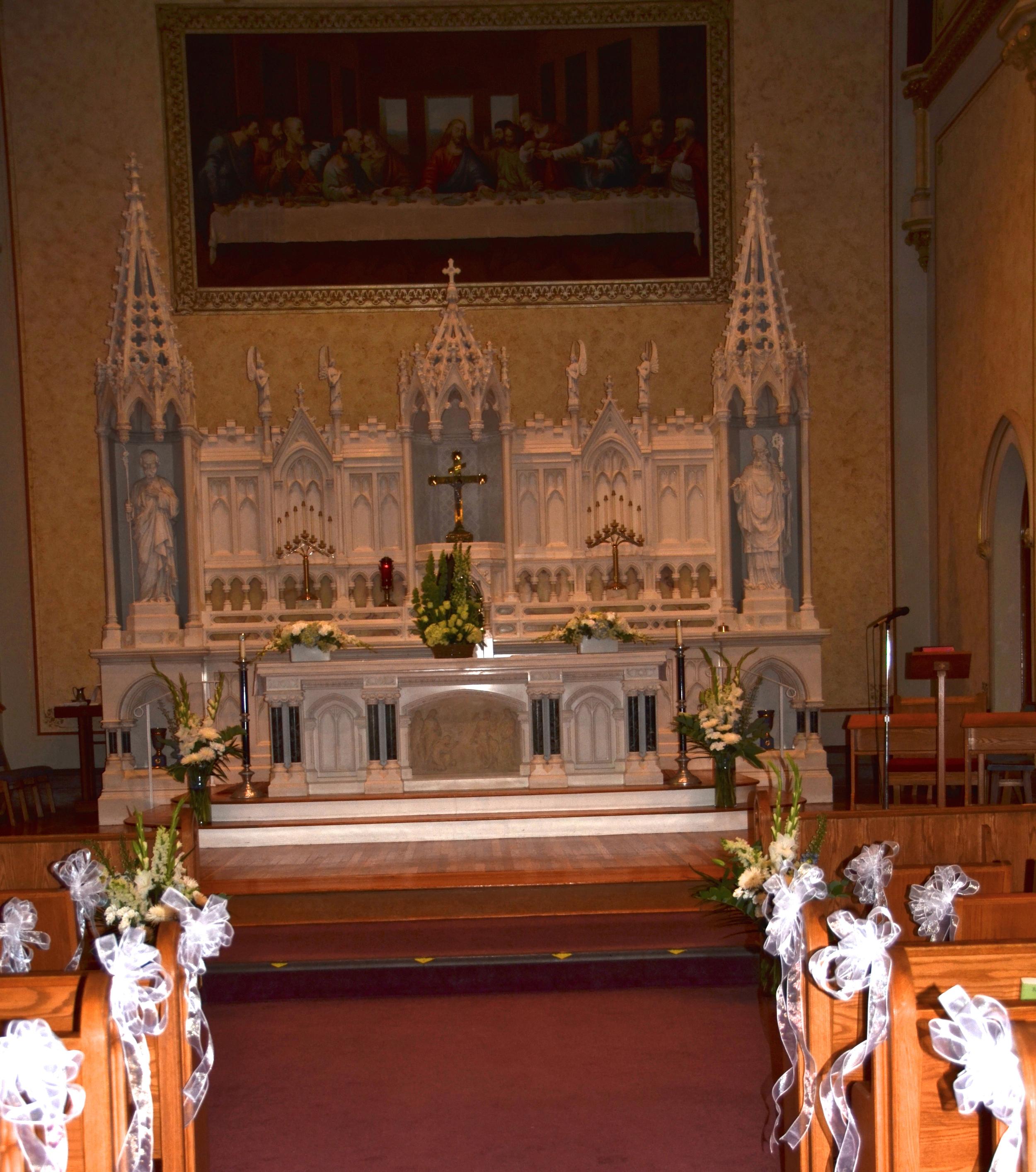 2015 Wedding St Gregory altar.jpg