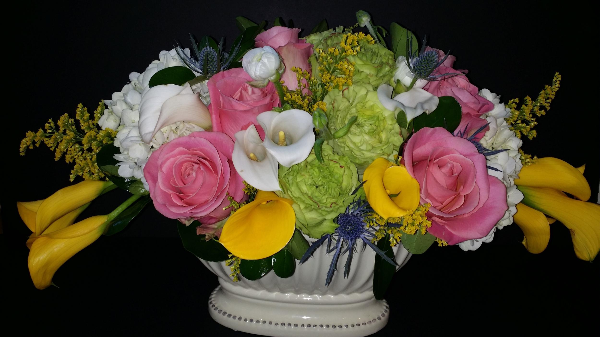 An Easter arrangement