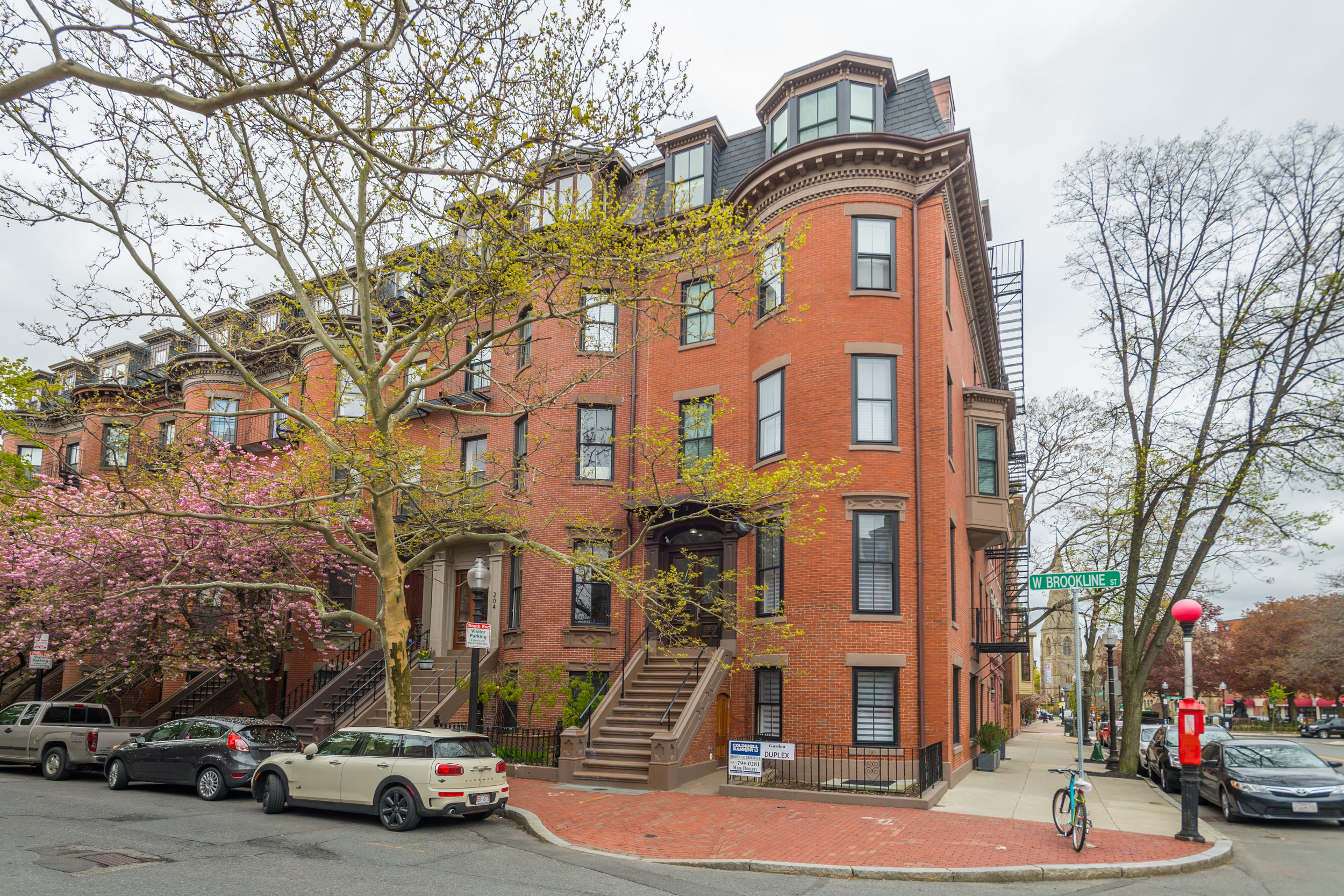 West Brookline Street, Boston, MA  - Staging for Mark Doherty at Coldwell Banker