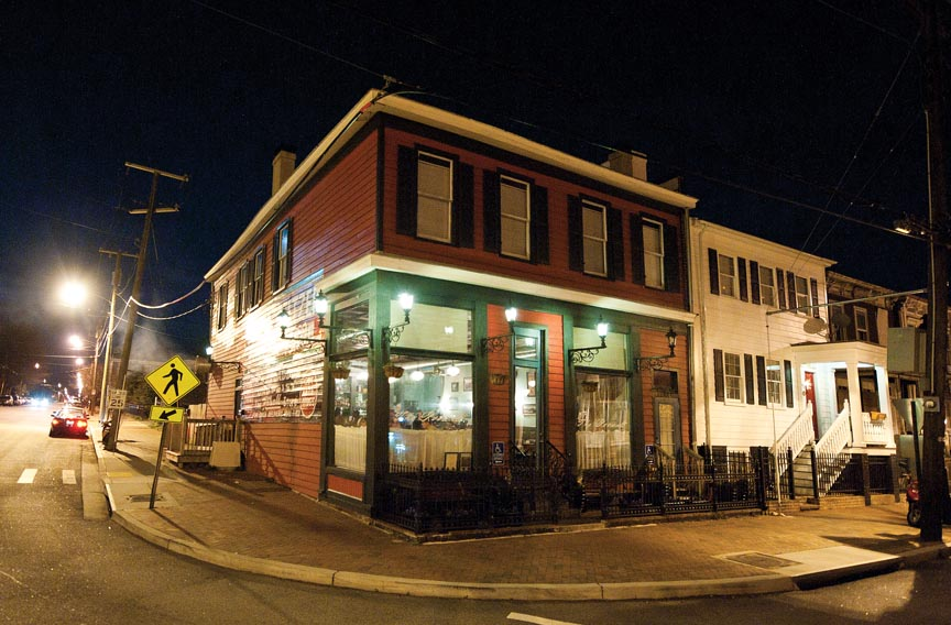 """Named """"2012 Restaurant of the Year"""" by  Style Weekly , The Roosevelt in Church Hill sits at the metaphorical corner."""