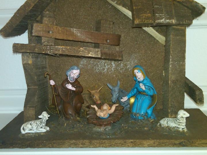 The nativity set of my youth, circa 1976.