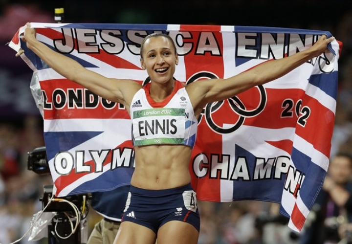 Jessica Ennis, forever a British icon.