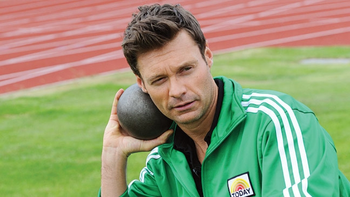 Ryan Seacrest is very good at posing. But you already knew that.