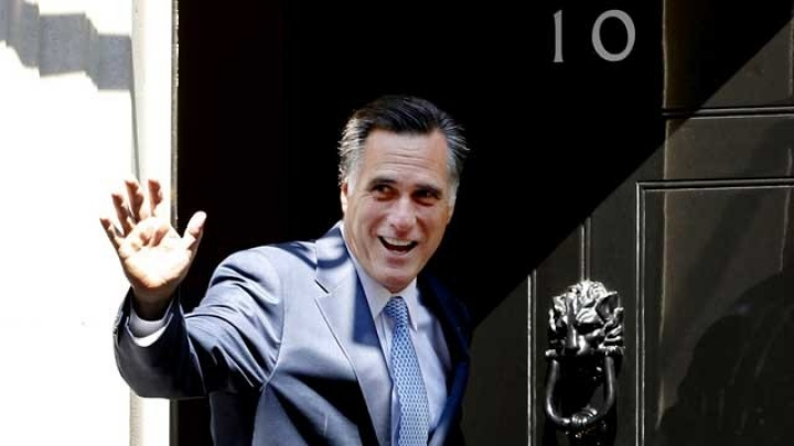 """Mitt Romney, starring in: """"How Not to Play the Good Guest."""""""