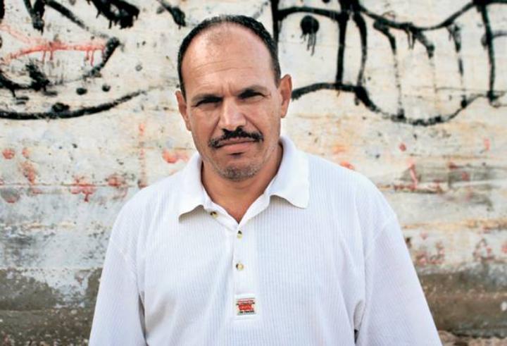 Palestinian community organizer Ayed Morrar.