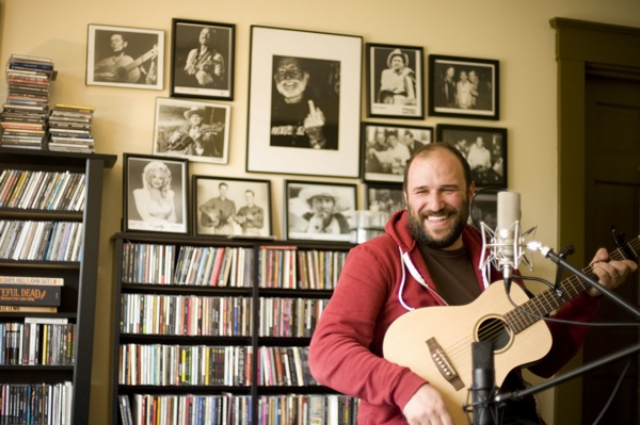 The singer-songwriter David Bazan used to front the Seattle-based indie-rock band  Pedro the Lion .