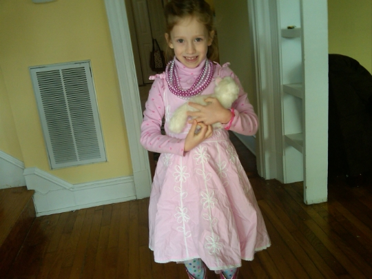 Kate Elmore, upon her 6th birthday.