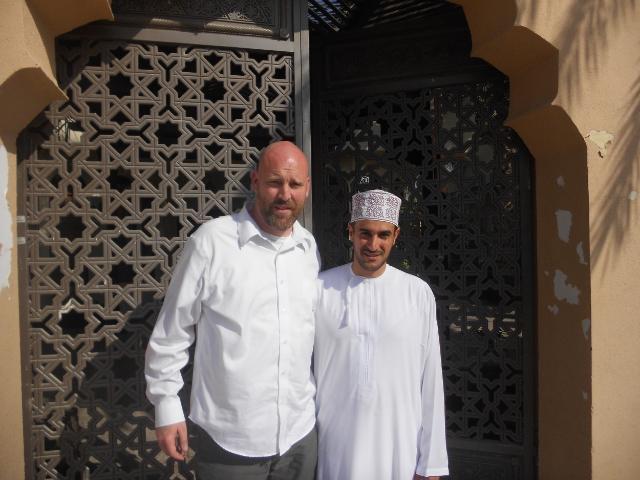 Me and Abdullah.    Photo: Nathan F. Elmore.