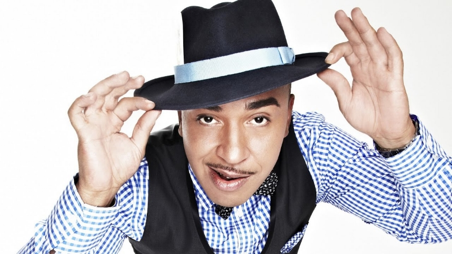 """A little bit of you makes me your man.    — Lou Bega,  """"Mambo No. 5""""       Photo: YouTube."""