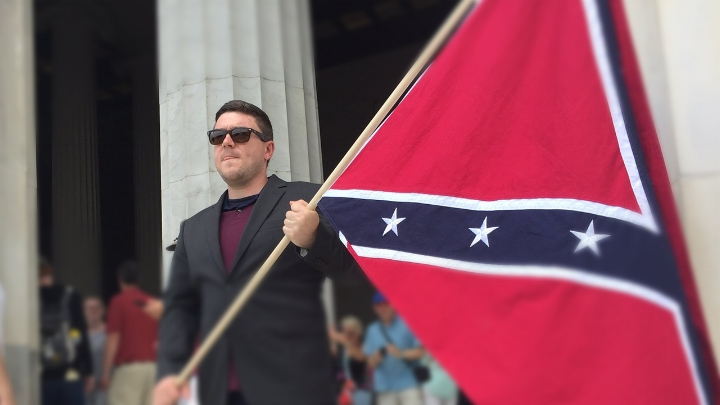 White-rights activist  Jason Kessler .    Photo: Southern Poverty Law Center.