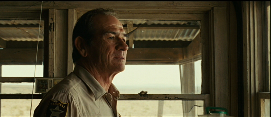 No Country for Old Men   's Sheriff Bell ponders his responsibility to stem the tide.