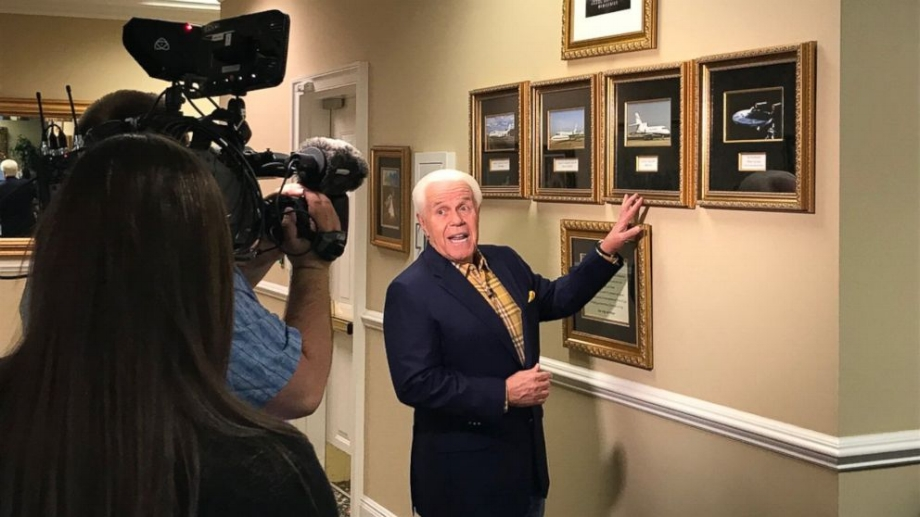 Televangelist Jesse Duplantis talks Jesus and jets.  Photo: ABC News.
