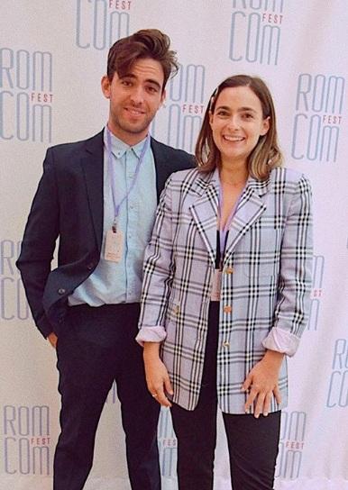 Jonah and Janey at LA's Rom-Com Fest