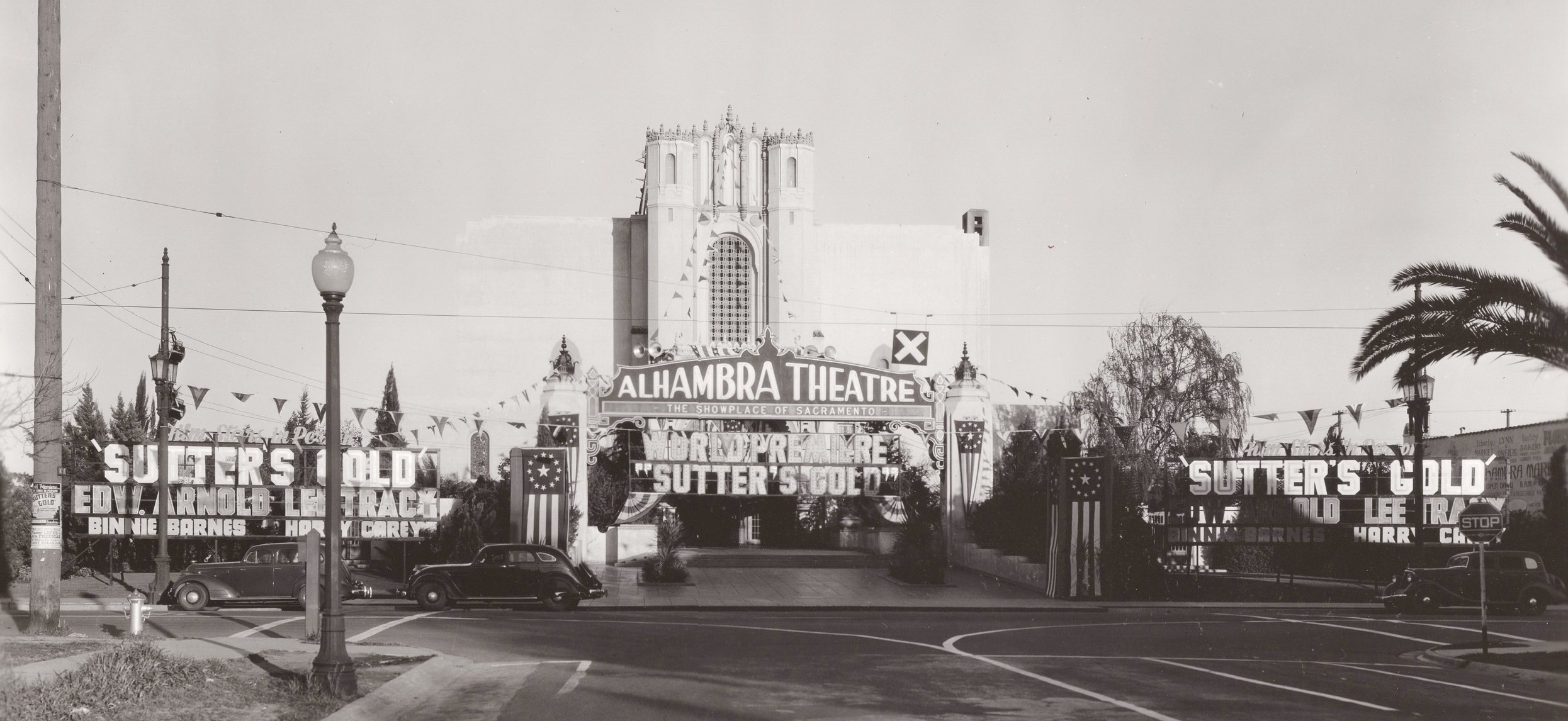 Alhambra Theatre 1936- Nicholas Cadena Moore Collection