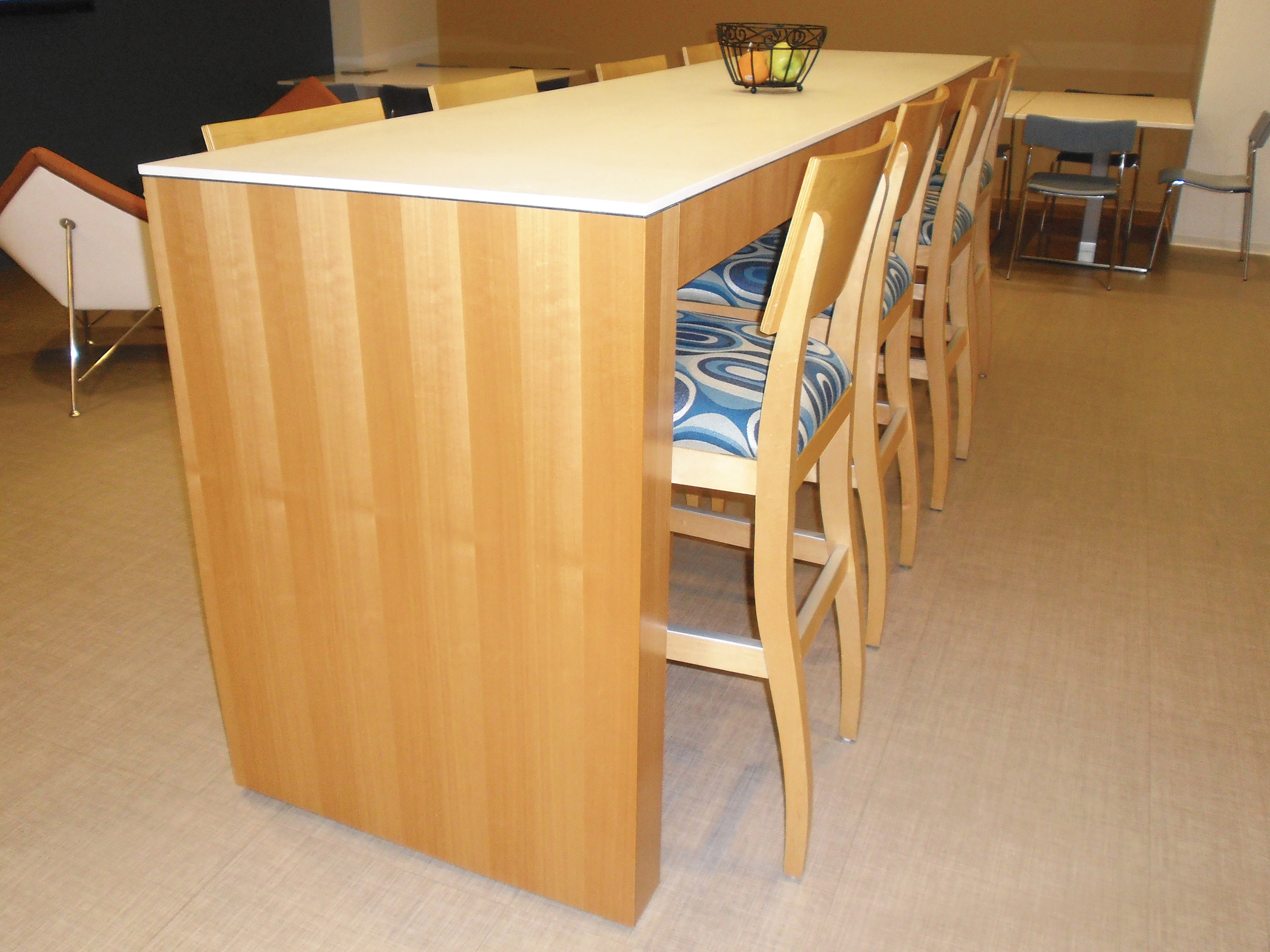 Tall Cafe Bar Table_Veneer and Solid Surface_01.jpg