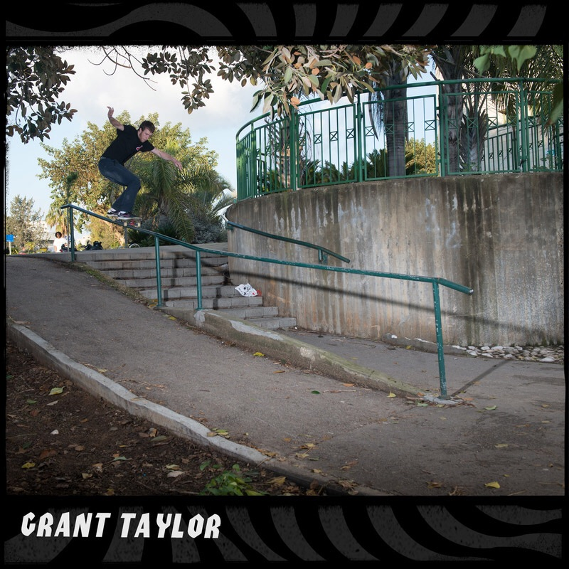 Grant Taylor has a rad photo and some radder wheels featured in the new Spitfire Fall '15 catalog through dlxsf.com most of which can be purchased at the shop.